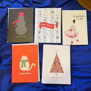 Lot of 25 Holiday Greeting Cards